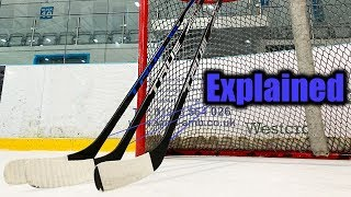 What is the difference between TRUE XC9 ACF, A6.0 SBP & A6.0 HT Hockey Sticks