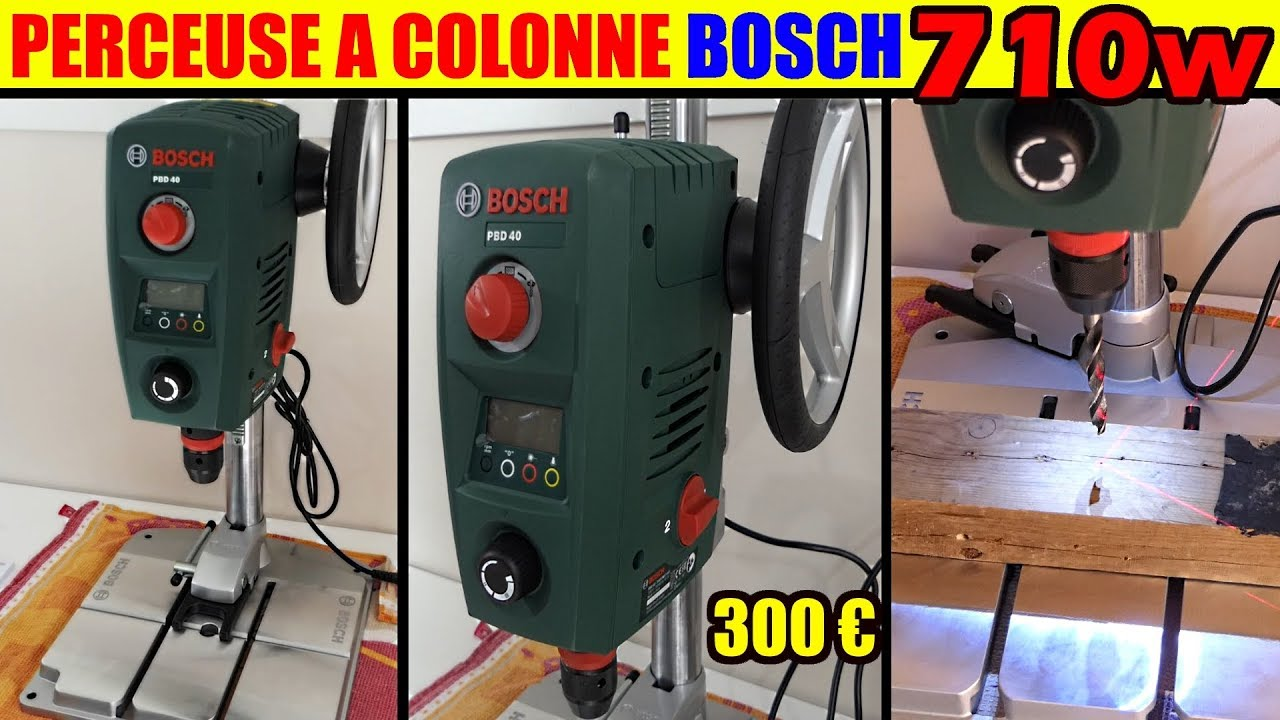 perceuse a colonne bosch pbd 40 bench pillar drill. Black Bedroom Furniture Sets. Home Design Ideas