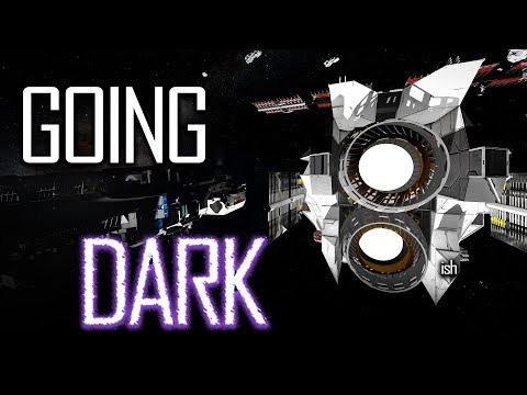 Space Engineers: GOING DARK... ft. Lucas' Wave Spawner - Uncooperative Survival #83