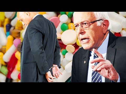 Bernie Intros Bill To Jail Big Pharma CEOs