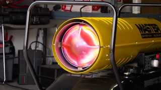 Master Kerosene Forced Air Torpedo Heater