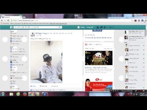 Hướng dẫn thay giao diện Facebook
