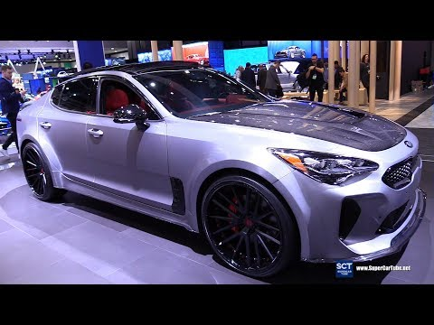 NEW  – KIA Stinger ST AWD Super Sport – Exterior and Interior p Full HD