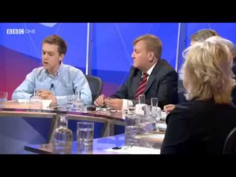 Owen jones BBC Question Time (Gaza)