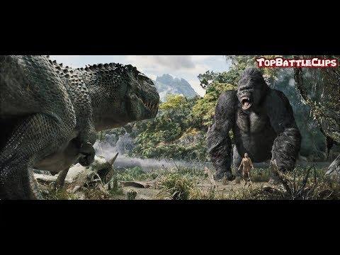 King Kong 2005 - Best Scenes II V-Rex vs King Kong