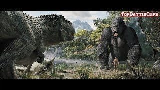 King Kong 2005 - Best Scenes II V-Rex vs King Kong