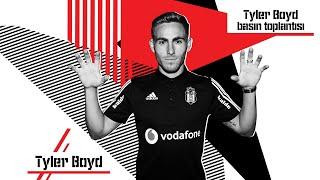 Yeni Transferimiz Tyler Boyd'un Basın Toplantısı | Beşiktaş JK
