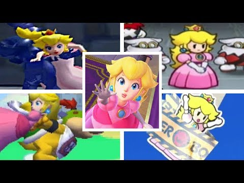 Evolution Of Peach Getting Kidnapped In The Super Mario Series (1988-2017)