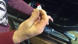 Ремонт автобокса, замена запорного механизма.
