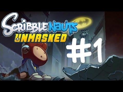 Scribblenauts Unmasked - Ep. 1 - GOTHAM CITY