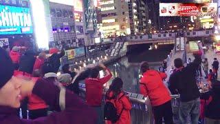 HINCHAS DE RIVER HACIENDO FIESTA EN JAPON リバープレート thumbnail