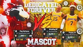 98 OVERALL MASCOT VS POWER And GR ND NG DF   GAME OF THE YEAR MUST WATCH NBA 2K19 PARK