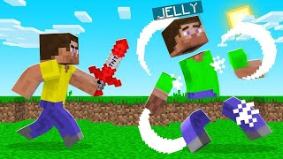 TROLLING Jelly With A TNT SWORD! (FUNNY)