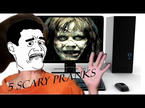 5 Scary Prank Games   Halloween edition   Scare your friends