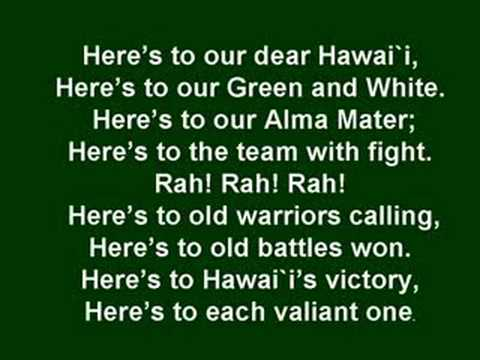 University of Hawaii Fight Song (Co-ed)