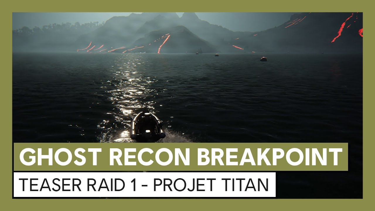 Ghost Recon Breakpoint : Teaser Raid 1 - Projet Titan