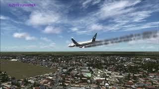 PIA Airlines 777-200 crash at Hyderabad India