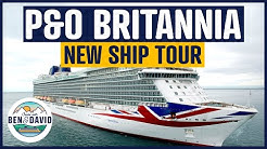 P&O Cruises Britannia 2020 updated ship tour in 4k