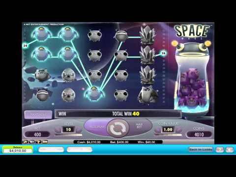 Space Wars Pokie Machine - MEGA WIN - Betting Max - Love This Game