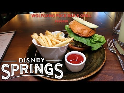 Wolfgang Puck Bar and Grill review Disney Springs