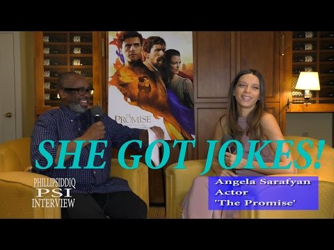 Angela Sarafyan interview with Phillip SIddiq for the film, 'The Promise'!