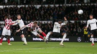 Highlights: Derby County v Stoke City