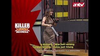 Karena getarannya buat Intan cenatz-cenutz, semua gelas pada tumpah! - Killer Karaoke Indonesia