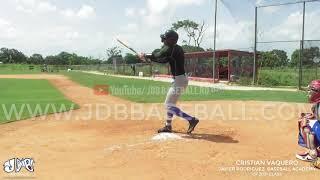 Cristian Vaquero CF 2021 Class From (Javier Rodriguez Baseball Academy) Date: 18.06.2019