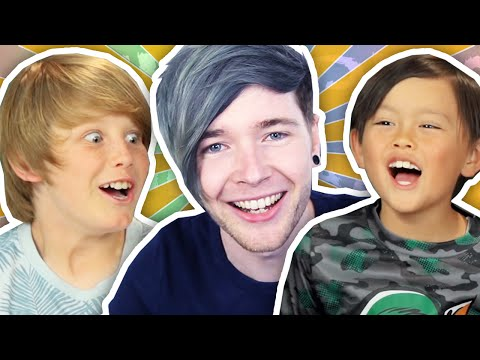 Thumbnail: DANTDM REACTS TO KIDS REACT TO DANTDM!!