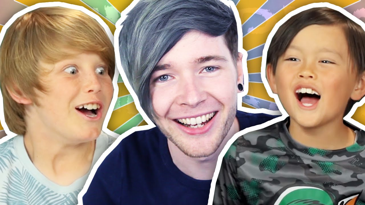 Dantdm and his family