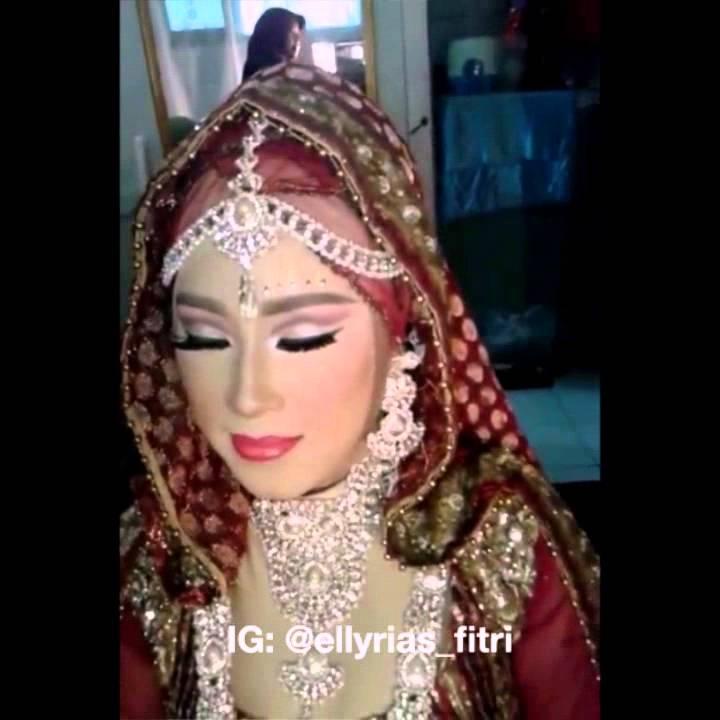 Pengantin India Muslim By Sanggar Rias Fitri Youtube