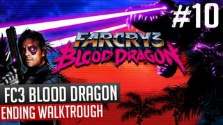 Far Cry 3 Blood Dragon Ending Boss Fight Last Mission PC Gameplay