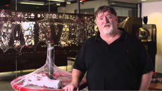 Gabe Newell Acceptance Speech - Golden Joystick Awards 2014