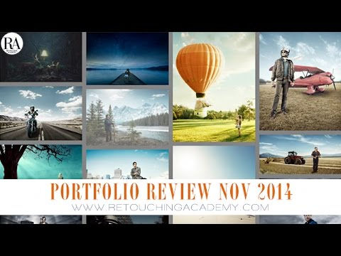 Retouching Academy Portfolio Review