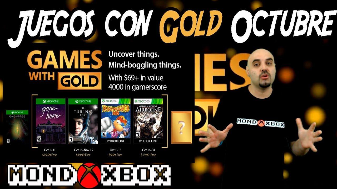 Juegos Con Gold Octubre 2017 Games With Gold October