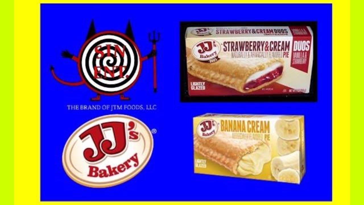 JJs Bakery Banana Cream And Strawberry Pie Review