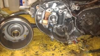demontage mtx 50 le moteur : PARTI 1