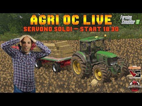 AGRI OC MAP, SERVONO SOLDI - FARMING SIMULATOR 17 - ALEXFARMER