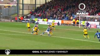 oldham college march goal of the month