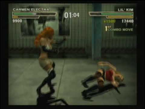 Def Jam Fight For NY Carmen Electra Vs Lil Kim YouTube