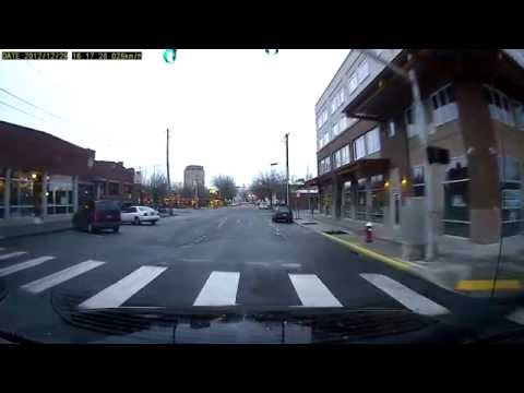 Driving through Bellingham (camera test footage)