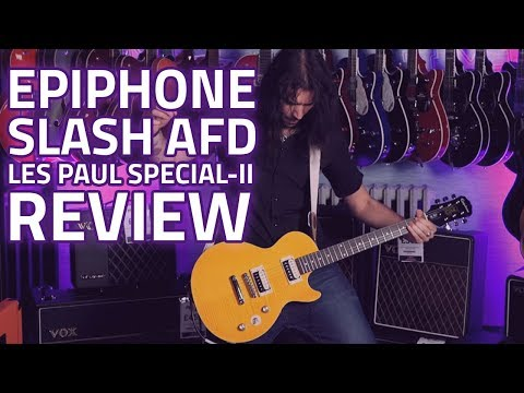 Epiphone Slash AFD Les Paul Special-II Guitar Outfit – Demo Review