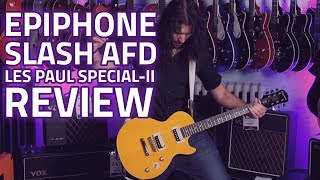 Epiphone Slash AFD Les Paul Special-II Guitar Outfit - Demo Review