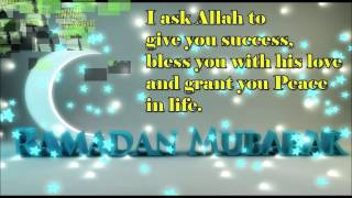 Ramadan Mubarak wishes, Greetings, Quotes, SMS Message, Whatsapp video
