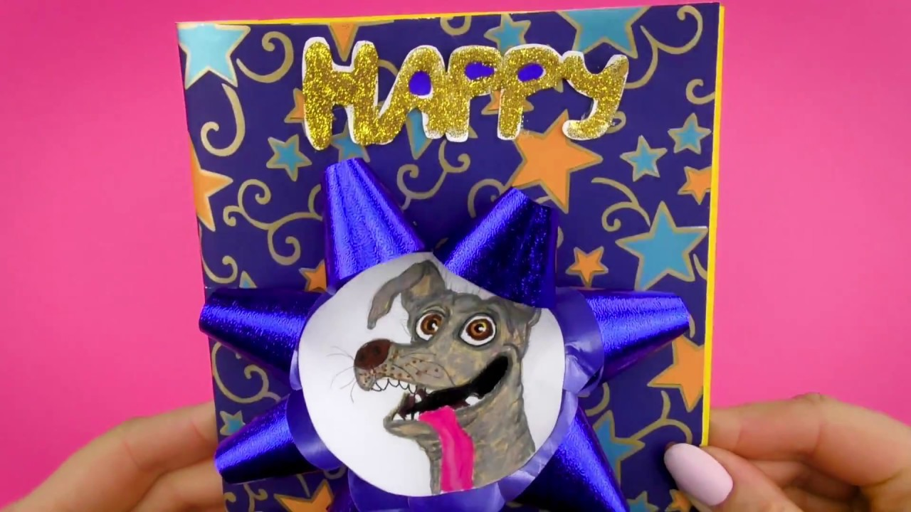 How To Make New Year Gift Card With Dog Dante From Coco ...