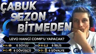 SEZON BİTMEDEN HEDEF CHALLENGER ! | LEVO LOL TAKTİK SAVAŞLARI