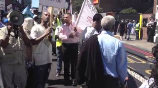 Eritrea Protest against Dictator Isaias Afewerki in London England #May25 (HD)