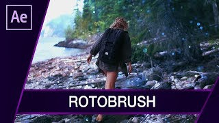Rotoscoping za pomocą Rotobrush ▪ Tutorial ▪ #45 AE After Effects
