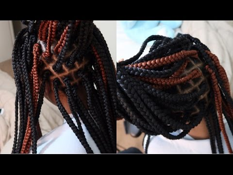 NO CORNROWS SINGLE CROCHET BRAIDS