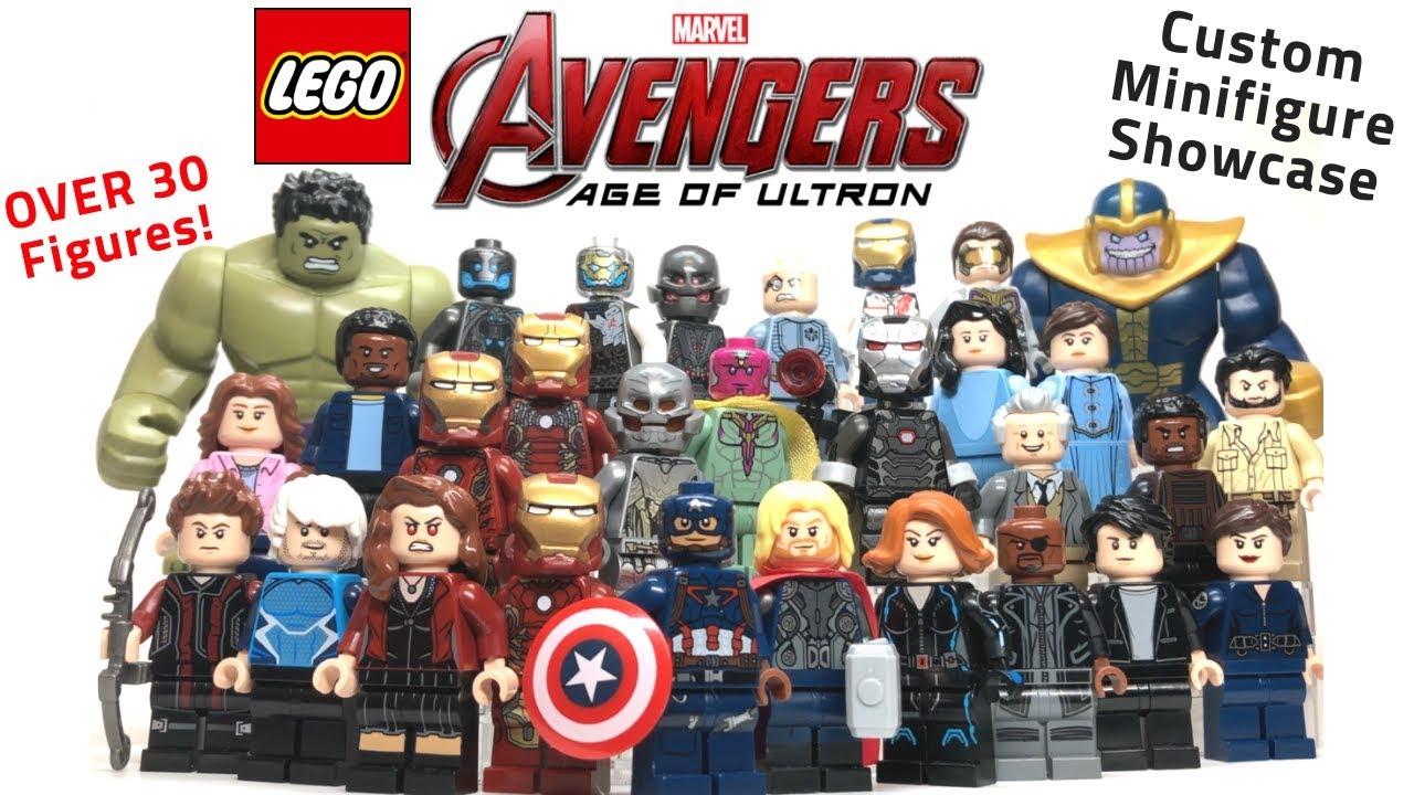 IRON-MAN LEGO Avengers MARVEL Minifig Endgame Building ...
